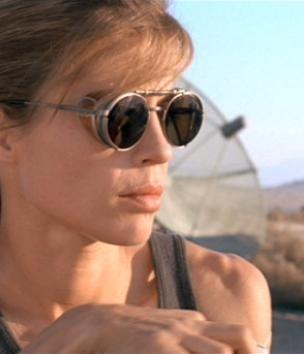 Steampunk Lunettes de soleil Sarah Connor Terminator 2 Movie