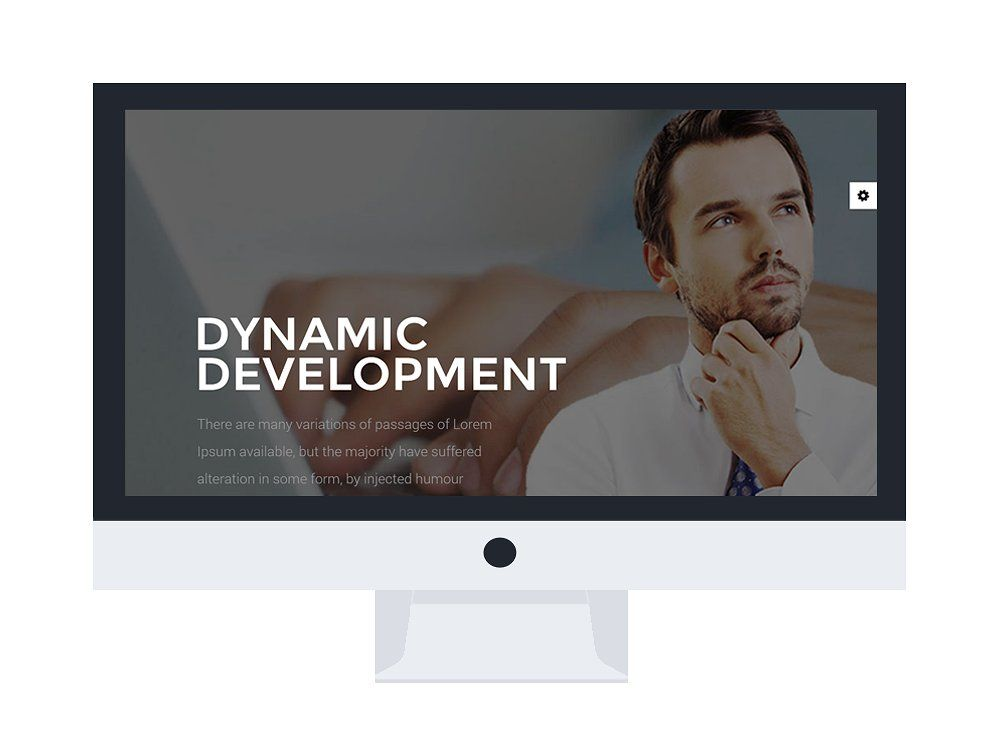 LT Resume Onepage Joomla Template Homepage Includes Responsive