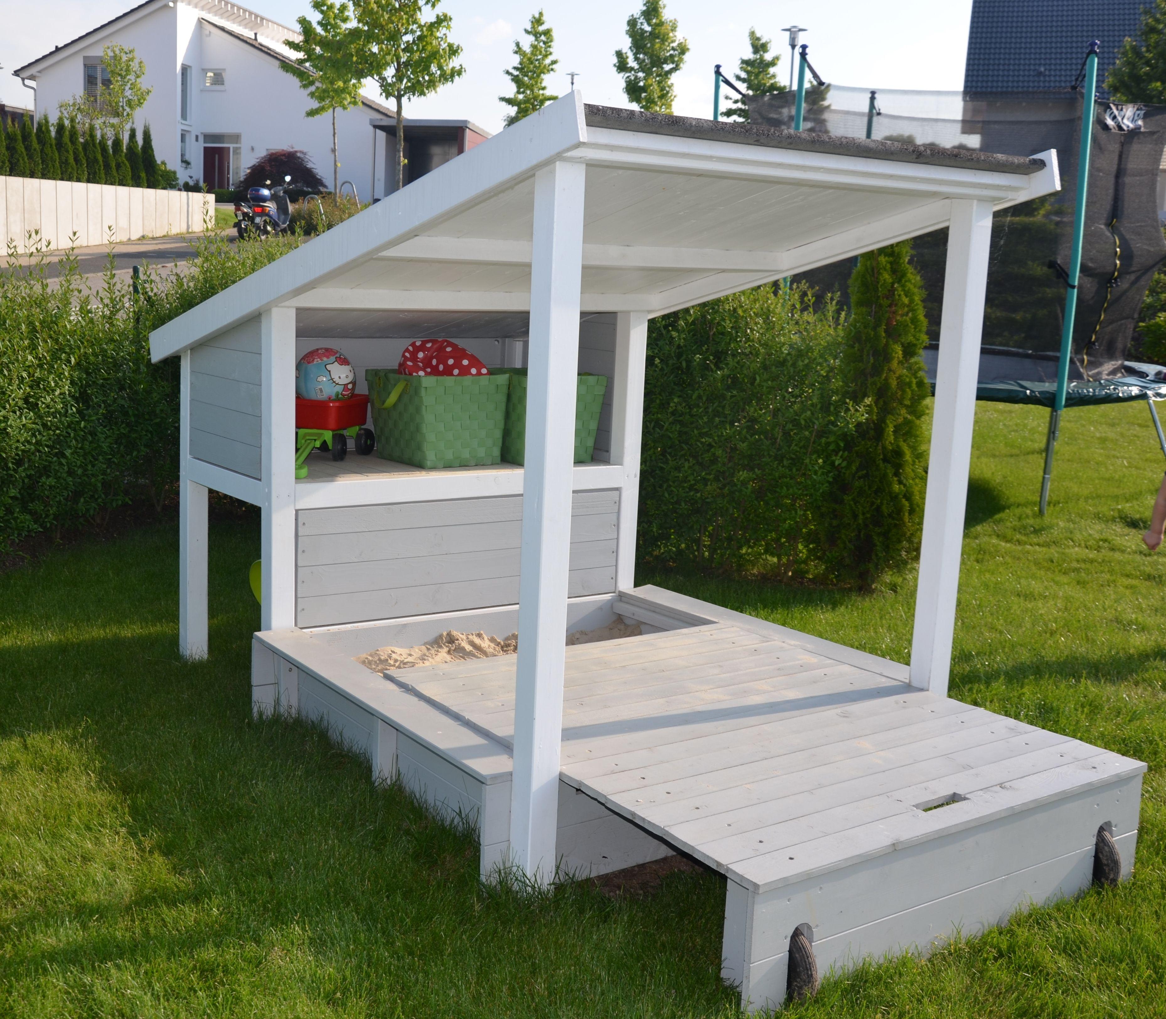 ein lieblingsplatz im garten unser sandkasten diy. Black Bedroom Furniture Sets. Home Design Ideas