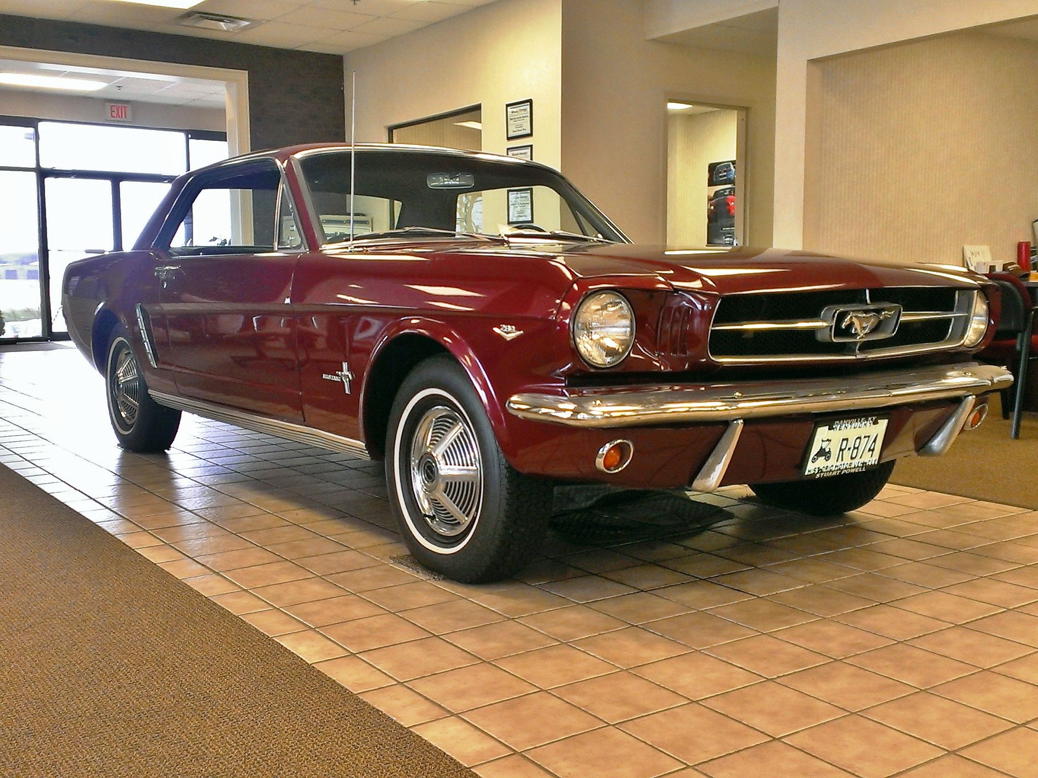 Pin By Michael Luzzi On Ford Mustangs Red Mustang Ford Mustang Mustang Fastback