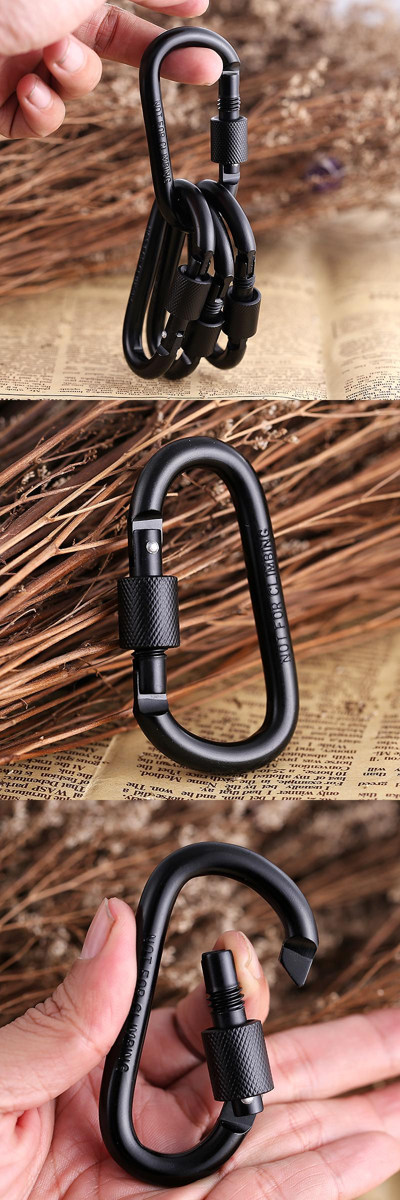 visit to buy 10pcs edc outdoor equipment safety hook buckle with