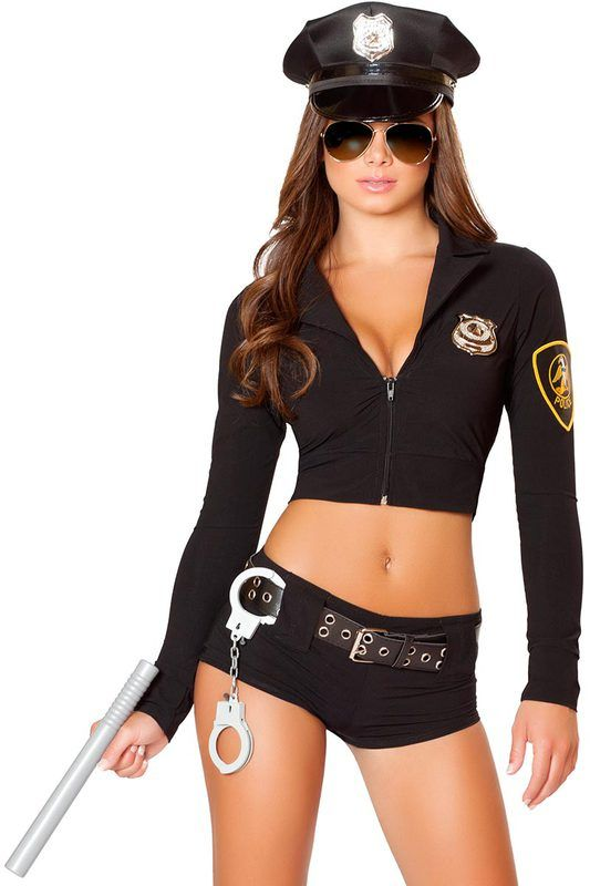 3wishes.com - Police Hottie Costume $74.95 (//.  sc 1 st  Pinterest & Police Hottie Costume | Pinterest | Robber costume and Costumes