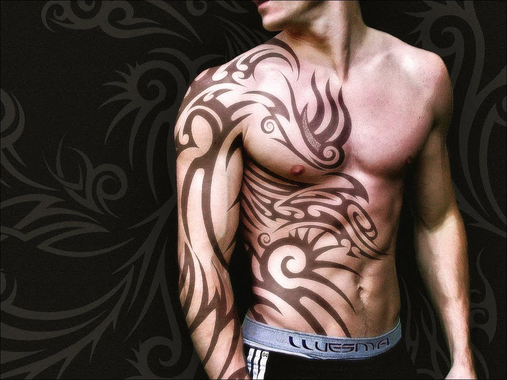 Tribal Tattoo Gallery Body Painting Art Gallery And Tattoos