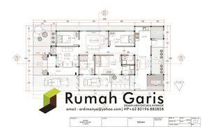 jasa gambar rumah 2 dimensi (dengan gambar) | rumah, denah