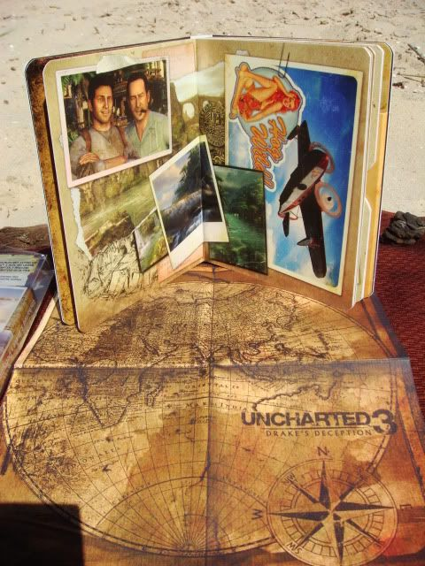 too cheesy. From game Uncharted 3