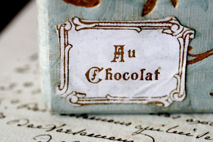Vintage Packaging: French ChocolateBox