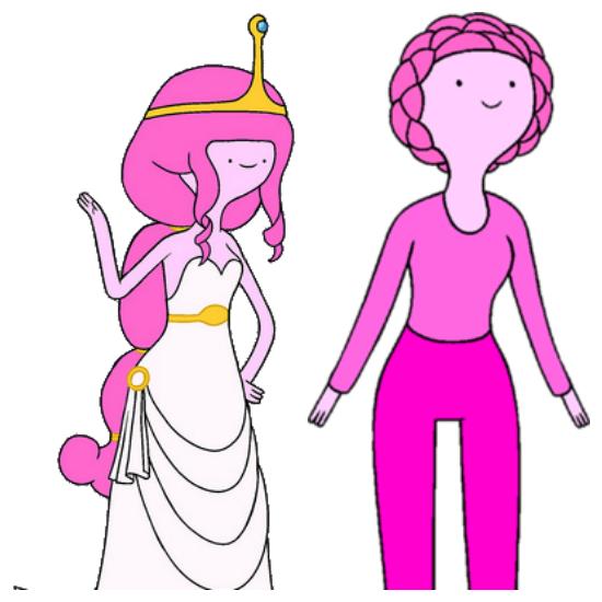 Adventure Time Princess Bubblegum Png 550 550 Pixels