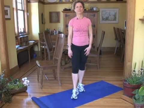 how to do balance exercises for seniors  senior fitness