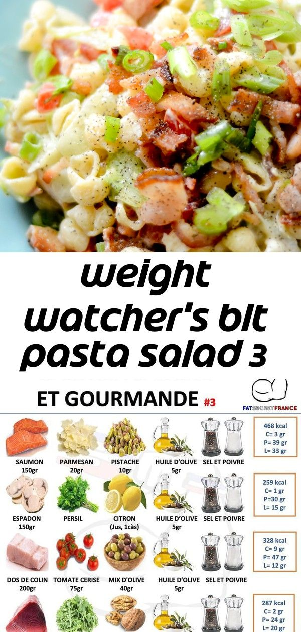Weight watchers blt pasta salad 3 Weight Watchers BLT Pasta Salad  Recipe Diaries  Thank you for visiting subscribe and share our page fatsecretfrance â  Ways to Tu...