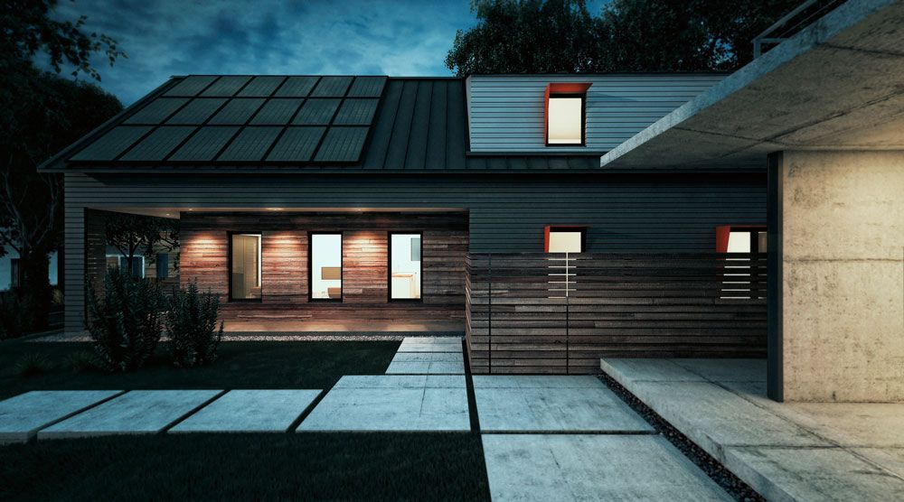 See Acre Designs' Plans For A Sleek Net-Zero House With Four