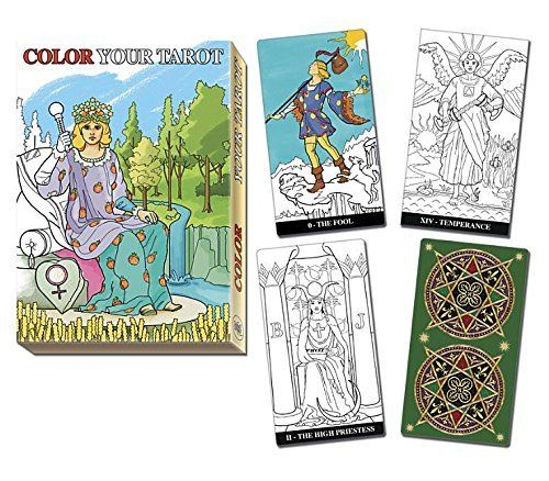 Color Your Tarot Deck By Barbara Moore Fairybrook Tarot Decks Tarot Tarot Card Decks
