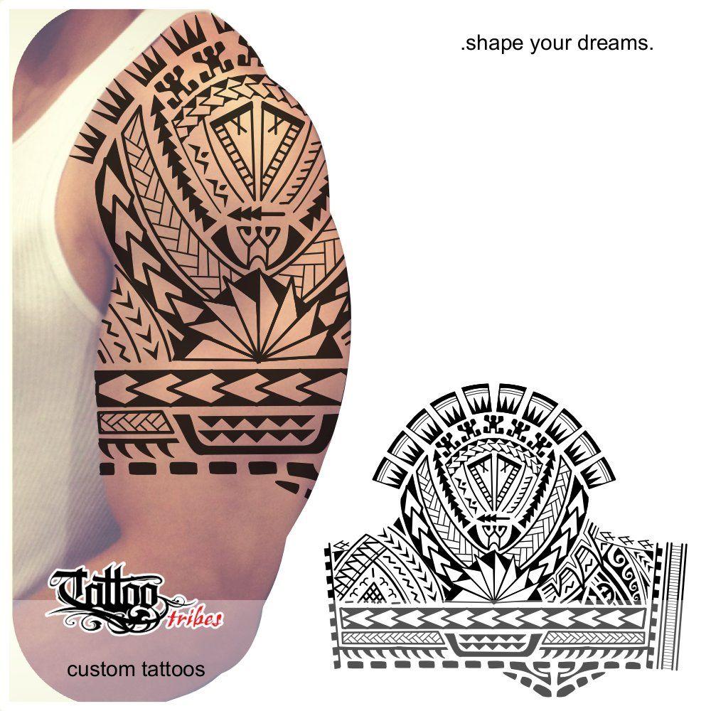 Taitai Leader To Guide Samoan This Half Sleeve Tattoo Was Prepared For A Warrior Who Embarked O Maori Tattoo Maori Tattoo Designs Polynesian Tattoo Sleeve