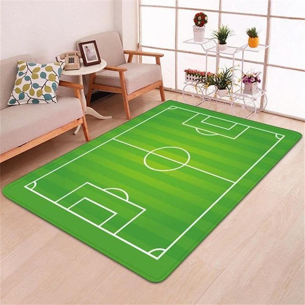 Football Field Rug New Carpet Modern Carpet Diy Carpet
