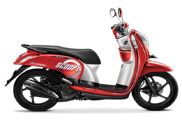 Spesifikasi Gambar Dan Harga Honda Scoopy Sporty 2017 Honda
