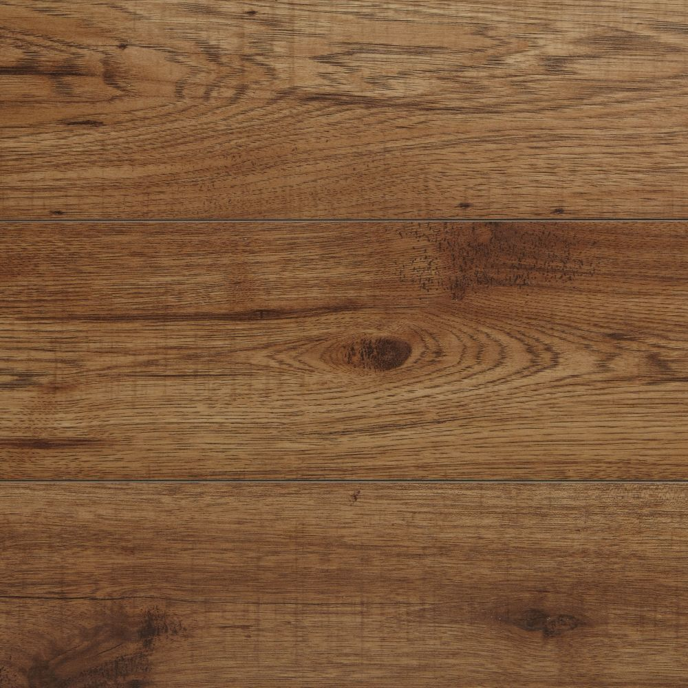12mm Brown Hickory Laminate Flooring 16 57 Sq Ft Case With Images Hickory Flooring Luxury Vinyl Plank Flooring Flooring