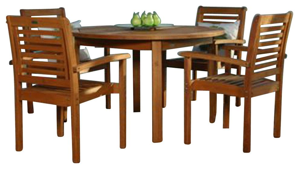 Round Table Patio Dining Sets