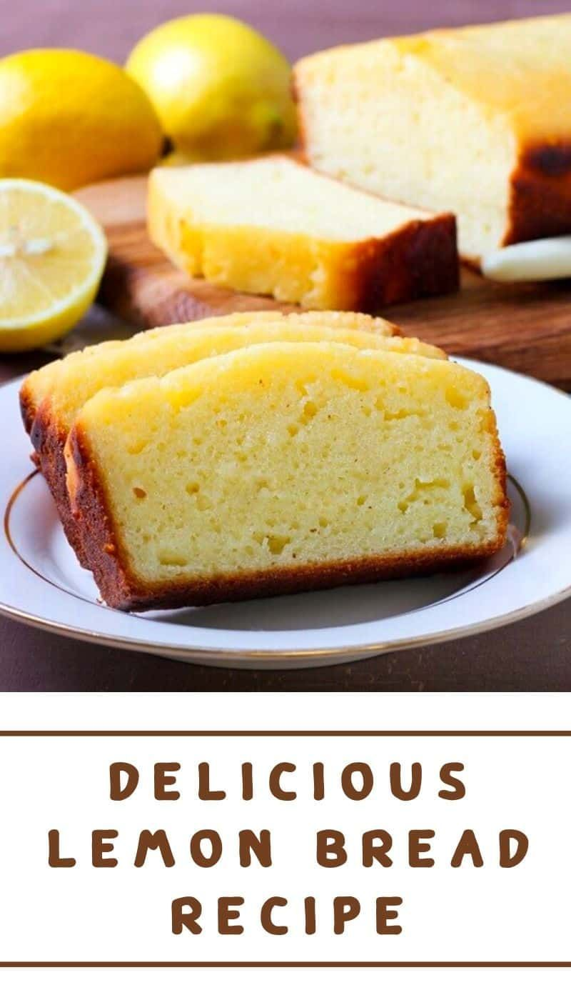 An easy and delicious recipe for Lemon Bread that is even better than Starbuck's Lemon Loaf. This lemon bread is tender, moist, and full of bright lem...#better #bread #bright #delicious #easy #full #lem #lemon #loaf #moist #recipe #starbuck #starbucks #tender
