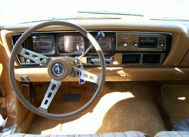 1977 AMC Matador Wagon Dashboard | Hudson car, Car ...