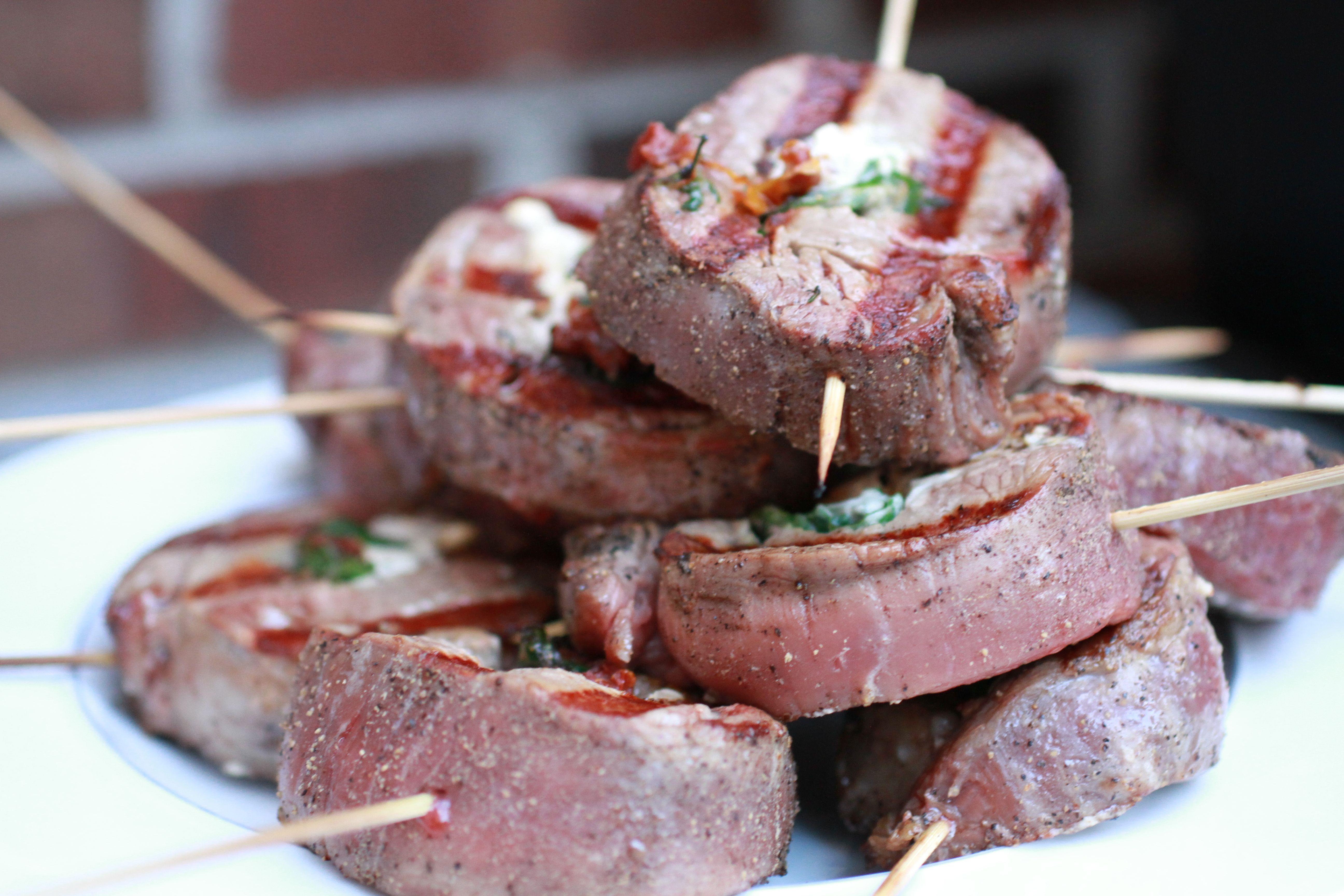 Flank Steak Pinwheels | WeeklyGreens.com
