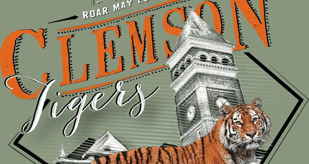 Tigertown Graphics Clemson alumni, Clemson, Clemson tigers