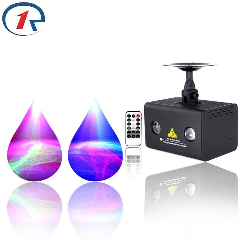 IR Remote Dream Star effect Stage Light Red Green Laser Light mix ...