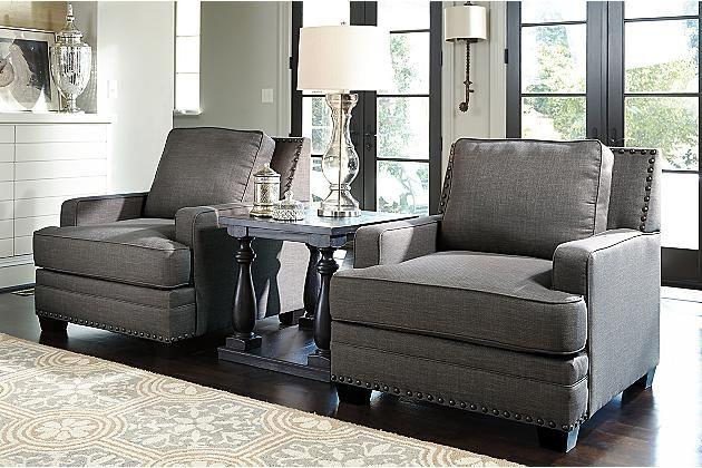 furniture graphite Ashley sofa