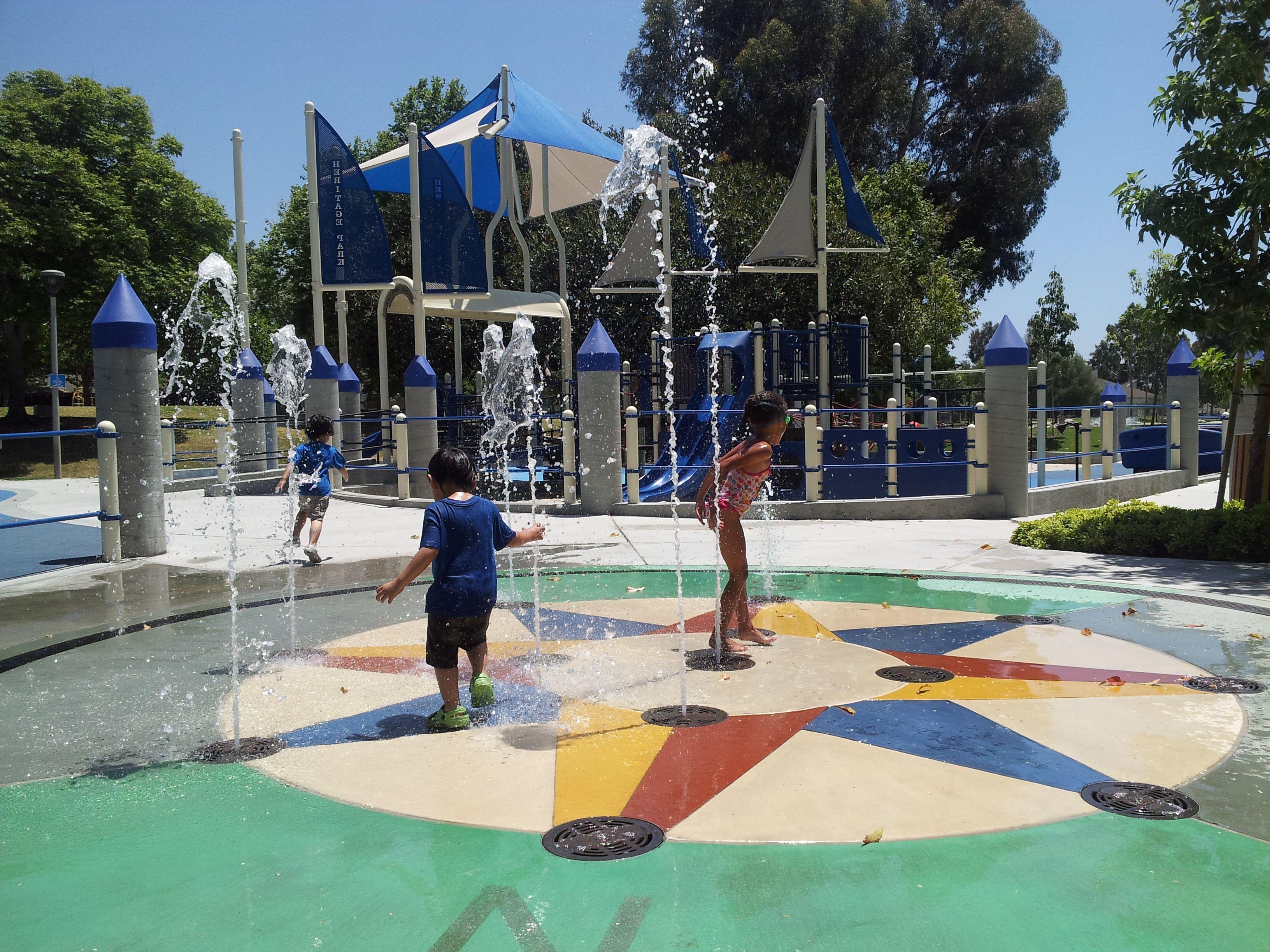 Splash Pad Heritage Park Irvine