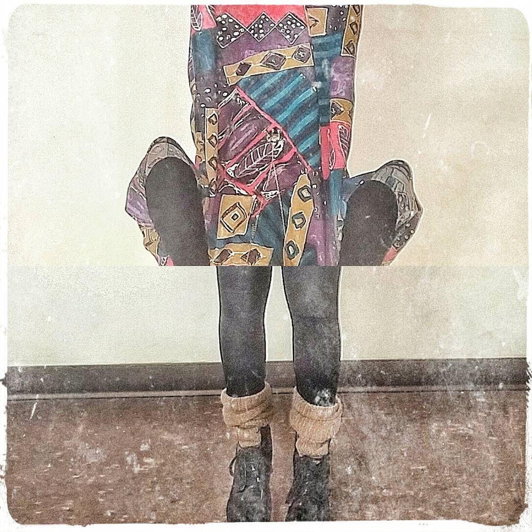 Keep me on my toes. #hello #fashion #fashionista #instaphoto #instacrop #legwarmers #colours #lovethis #art #oddball #makeartnotwar #onthecatwalk #runway #toronto #6ix #6 by denisedeion