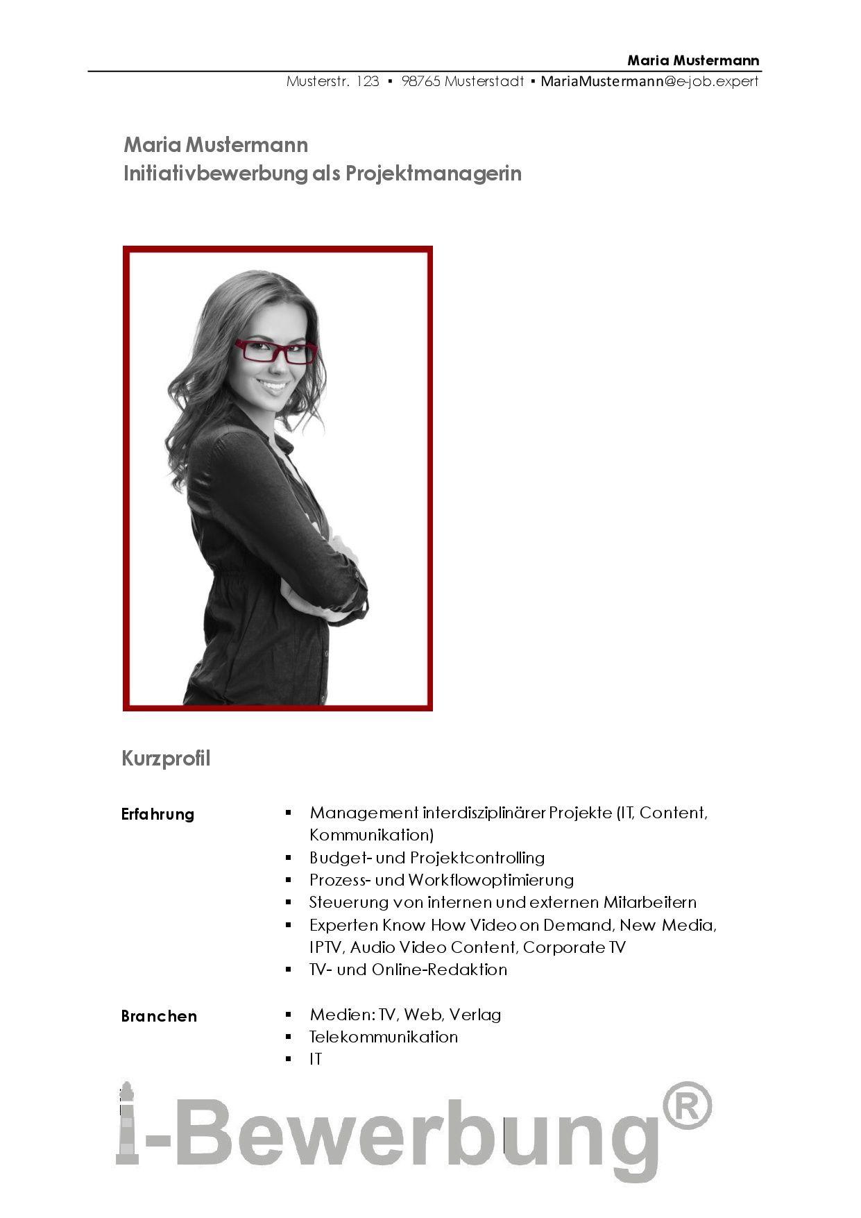 Was Ist Initiativbewerbung Entdecken Sie Den Verdeckten Stellenmarkt Projekt Manager Stellensuche Deckblatt Vorlage
