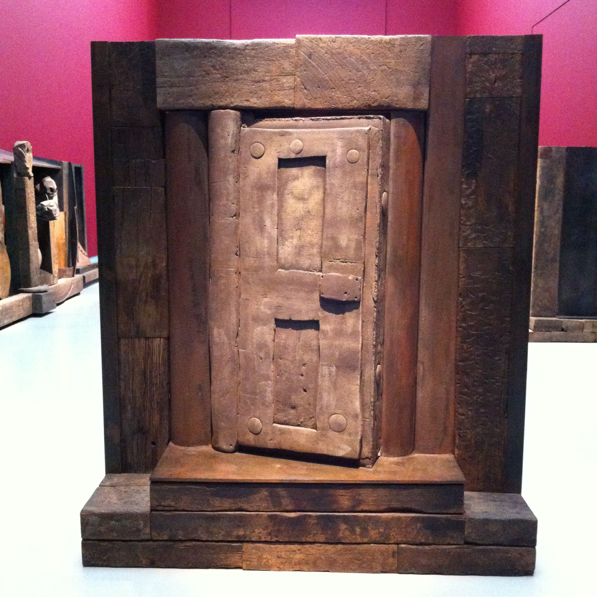 Anthony Caro - the last judgement (the door of death)