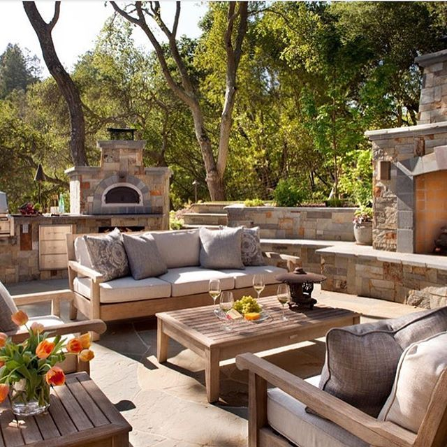 Good Morning Loving This Backyard By Castlerock Homes Shared By Mesmerizing Backyards By Design