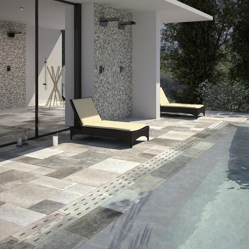 Carrelage Exterieur Effet Pierre 50x50 Ares Grip Naturel Collection Pantheon Century En 2020 Carrelage Exterieur Carrelage Exterieur Antiderapant Construction Piscine