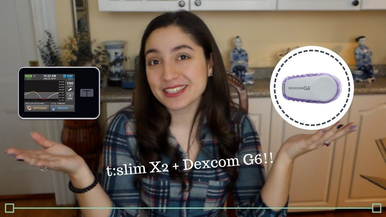 Dexcom G6 Setup On T Slim X2 Tutorial Dexcom Tutorial Slim