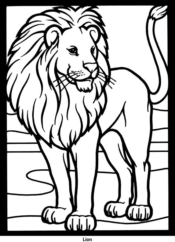 Lion Coloring Pages African Free Online Printable Sheets For Kids Get The Latest Images