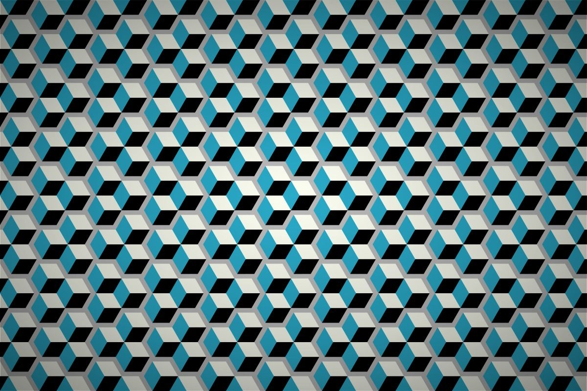 3d Geometric Designs Free Geometric Cubes Wallpaper