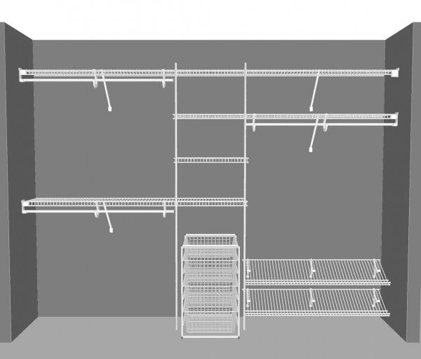 closetmaid wire shelving - Google Search | Ideas for our home ...