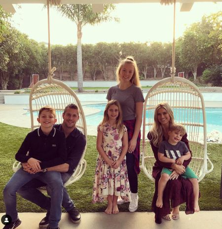 Christina El Moussa Spends Christmas Eve with New