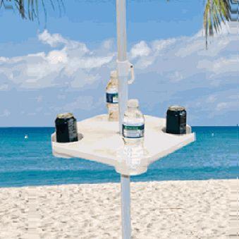 Beach Umbrella Accessories | Beach Umbrella Table   American Sale