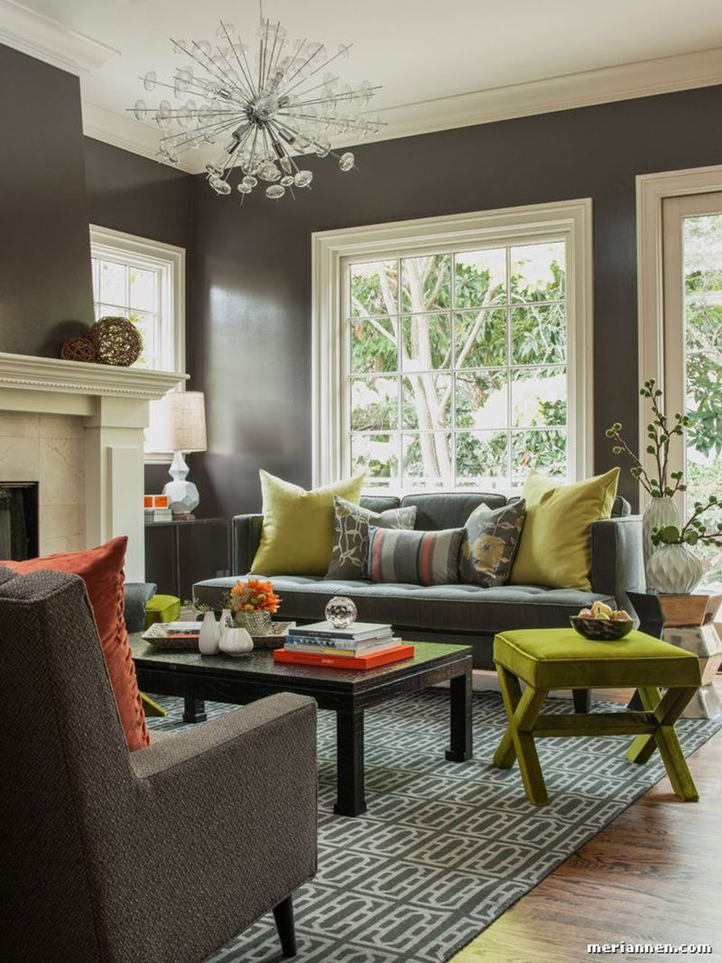 23 Green Accent Chairs In Living Room For A Refreshing Touch Part 4