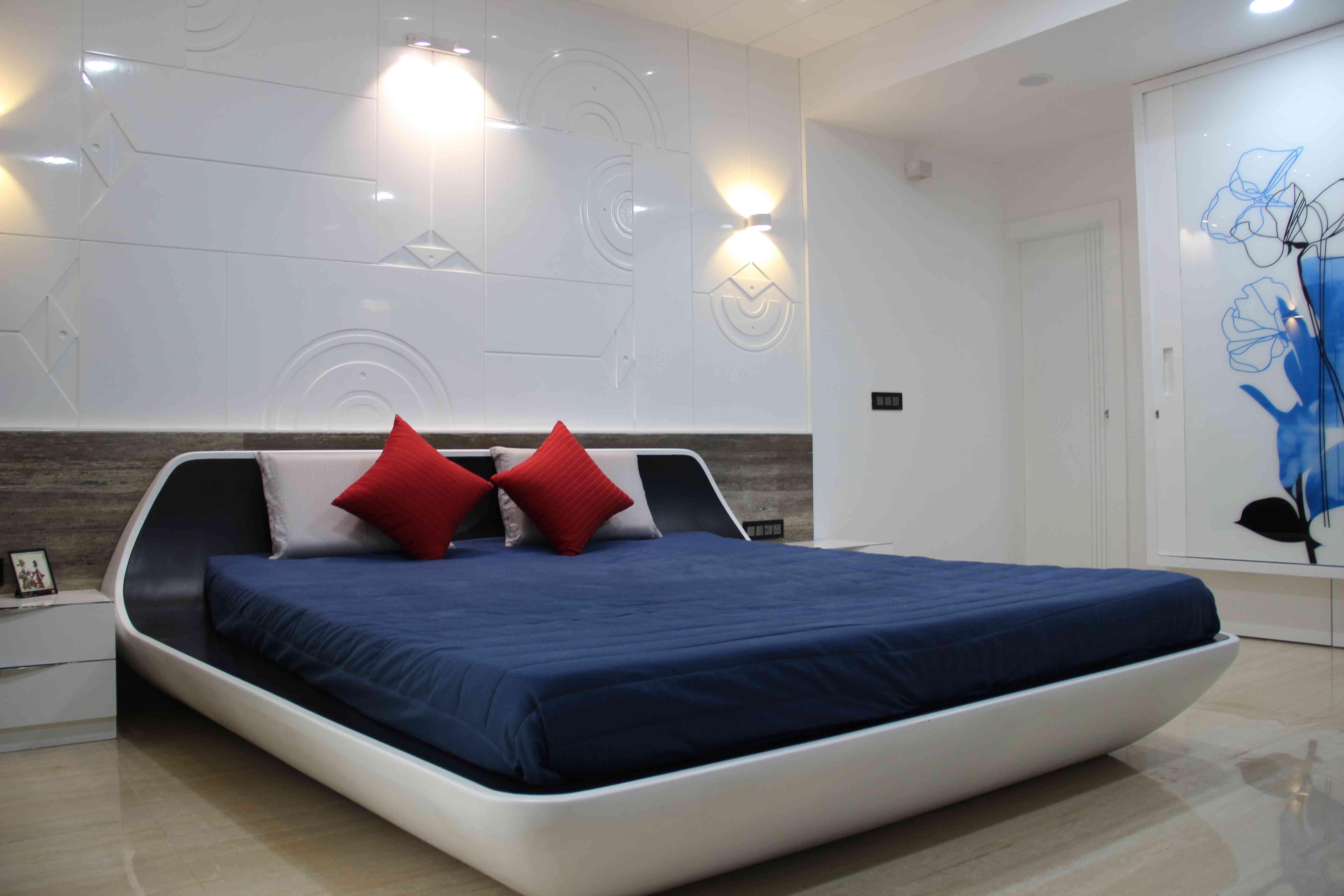 Design Malvi Gajjar Wallpaper Design For Bedroom Contemporary