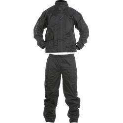 Photo of Vquattro Arcus Pack motorcycle rain suit black 4xl V'Quattro