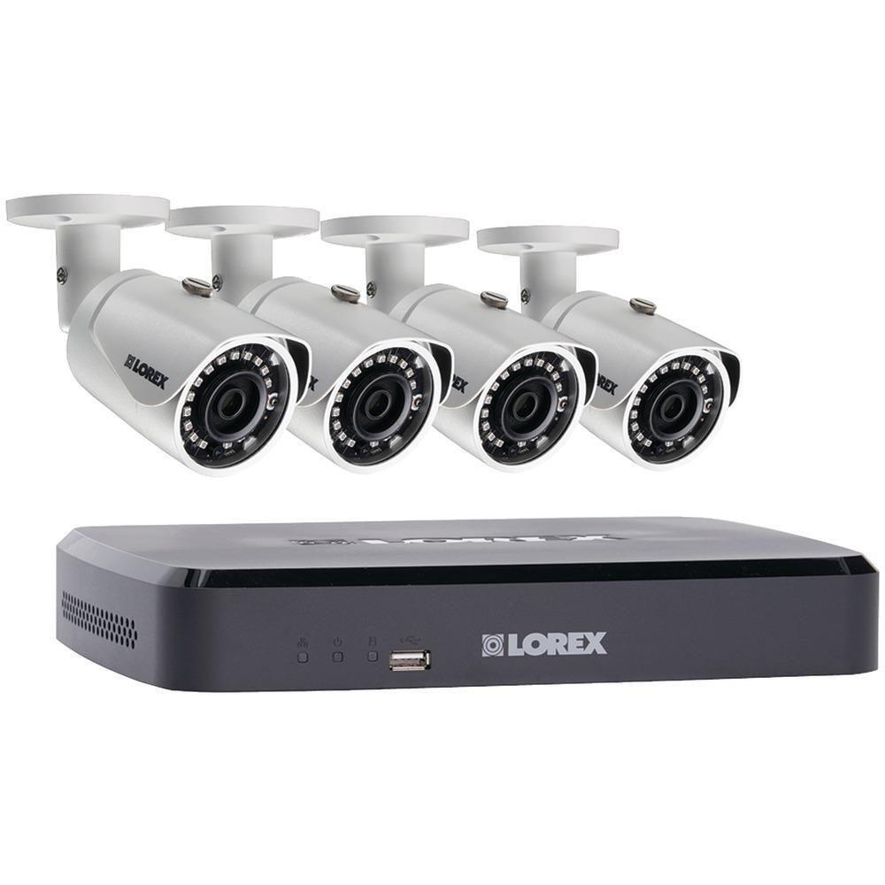Lorex by FLIR LNR1141TC43B 4Channel 1080p 1TB NVR with 4