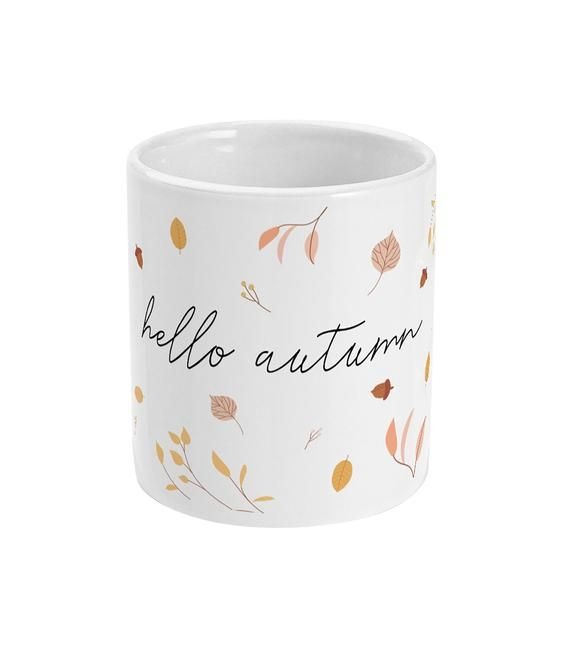 Hello Autumn 11oz Mug #helloautumn