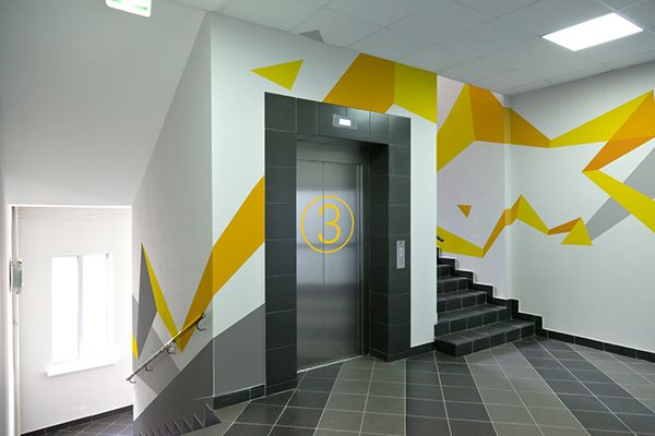 Design concept of wall graphics. on Behance   Interior ...