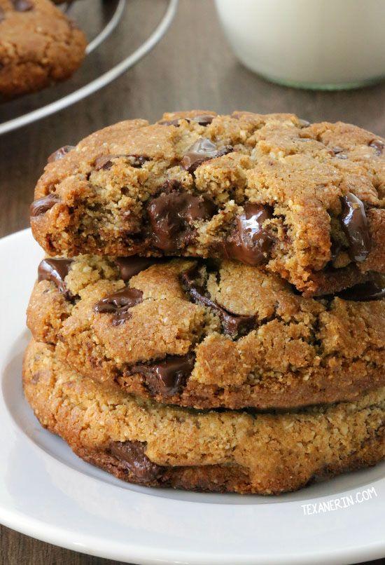 Perfect Paleo Chocolate Chip Cookies Grain Free Gluten Free Dairy