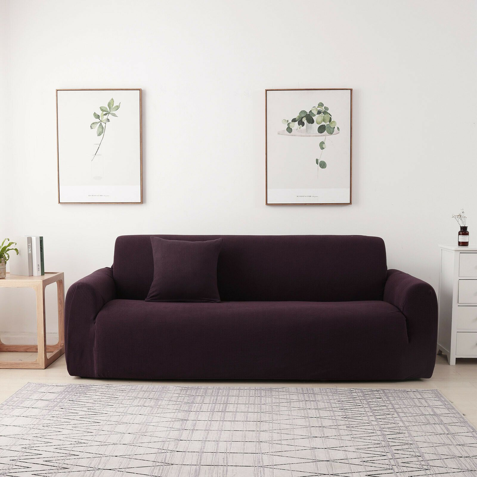 1 2 3 4 Seater Stretch Sofa Covers Chair Couch Cover Elastic Slipcover Protector Kitchen Sofa Ideas Of Kitchen Sofa Kitchens In 2020 Kitchen Sofa Sofa Sofa Covers
