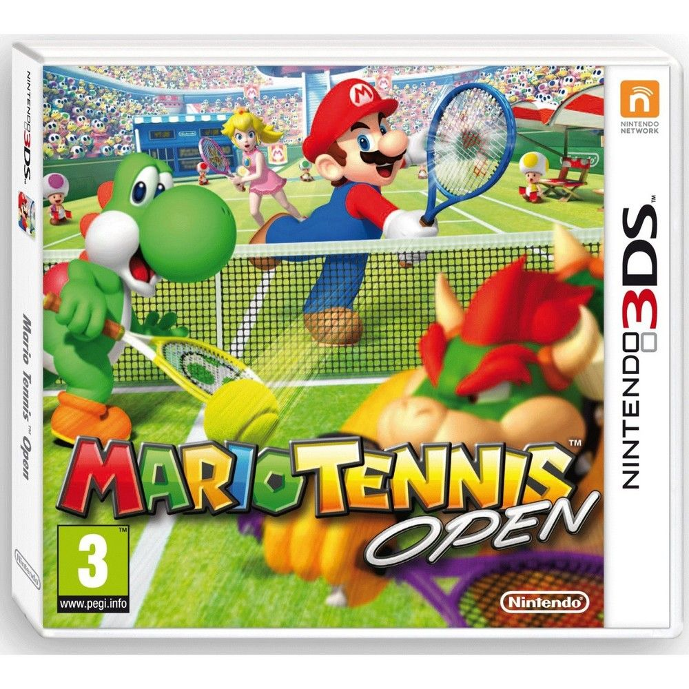 Mario Tennis Open Nintendo 3DS Tennis open, Sports