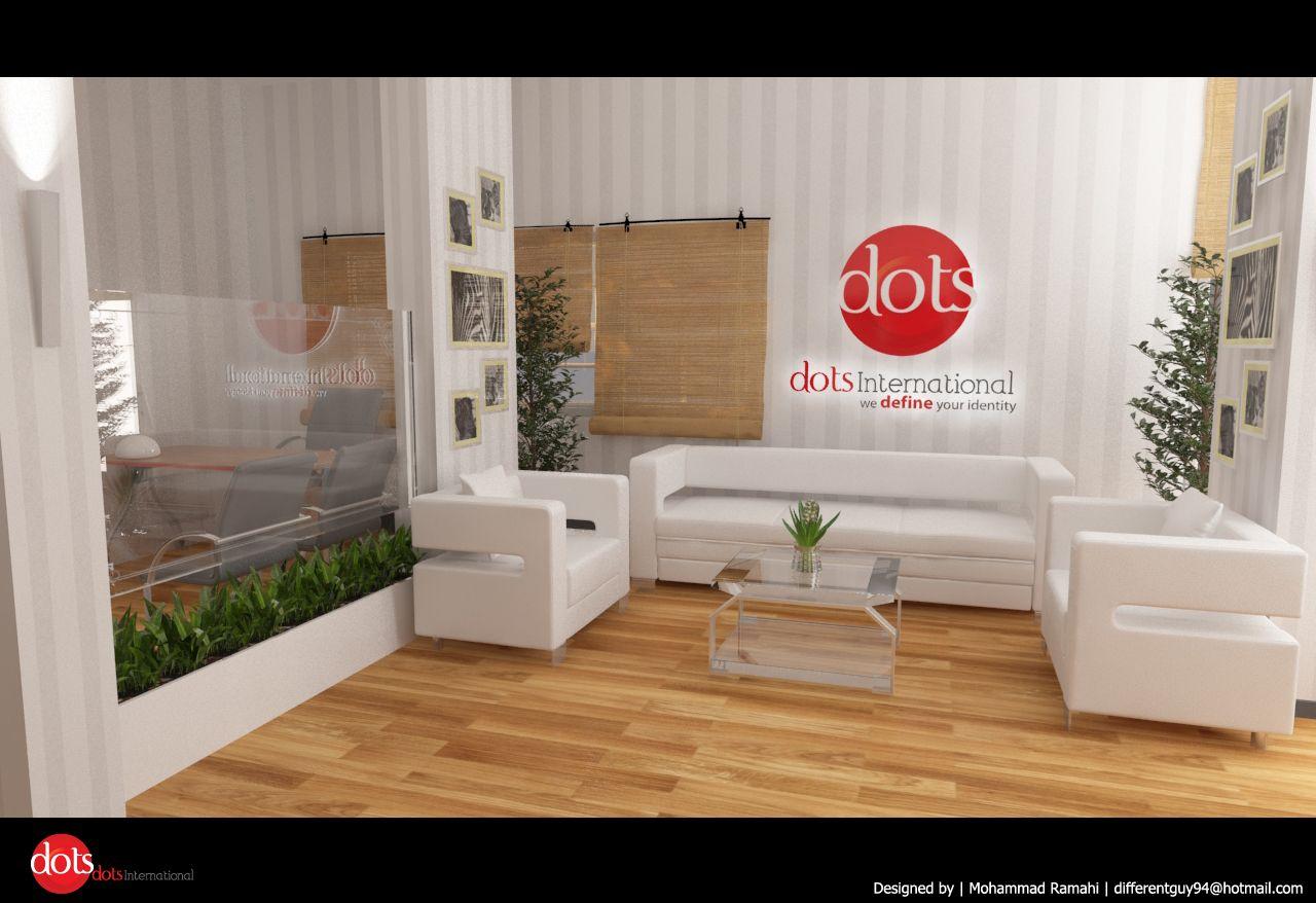 تصميم ديكورمكتب شركة دعاية وإعلان Creative Interior Design Store Design Design