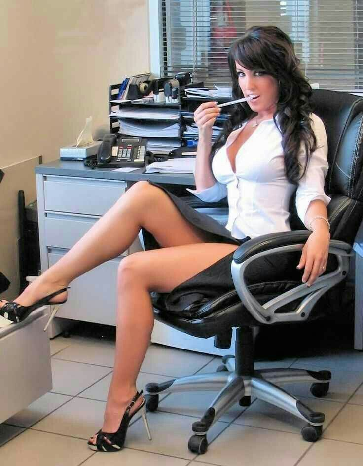 Secretary With Y Long Legs And