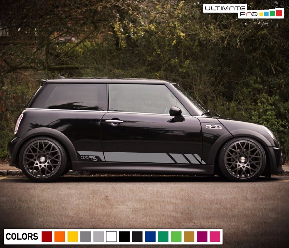 Sticker Decal Side Door Stripe Body Kit For Mini Cooper S Hatch Handle Cover Set Ultimateprocy1 Mini Cooper Mini Cooper S Volkswagen Phaeton